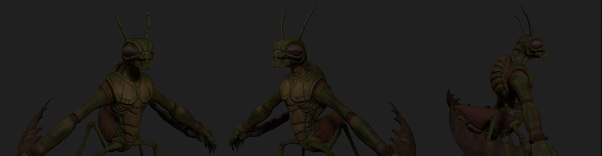 3D Game Asset called 3D Stylized Bug Character for Game Development Company